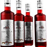 Wer es lieber alkoholhaltig mag, hat an einem Getränk namens Ficken vielleicht mehr Freude. Es ist zwar kein Cocktail, sondern ein Beerenlikör, aber mit ihm lassen sich prima Cocktails mixen.