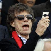 Der Frontmann der Rolling Stones ließ sich diesen Klassiker natürlich nicht entgehen und knipste ein paar Bilder für das private Fotoalbum.
