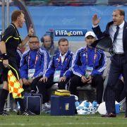 Ärger mit dem Schiedsrichtergespann.