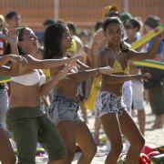 Heiße Brasilianerinnen