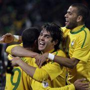 Brasiliens erfolgreiches Offensivtrio.