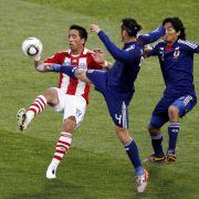 Doch die Begegnung zwischen Paraguay und Japan war eines WM-Achtelfinals nicht würdig und hatte eigentlich keinen Sieger verdient.