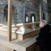 Das Summen der Windanlage, erzeugt mit großen Blasebälgen, ist eine der Attraktionen in der Burchardikirche.