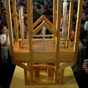 Noch muss das John-Cage-Orgelprojekt mit einem provisorischen Instrument auskommen.