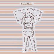 Eine ebenfalls nur selten auftretende Schlafposition, die den netten Namen Brot und Butter trägt.