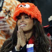 Diese holländische Anhängern fieberte im WM-Finale mit Oranje mit.