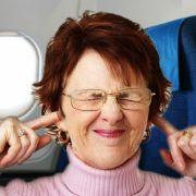 Was hilft dem gequälten Trommelfell auf Reisen? (Foto)