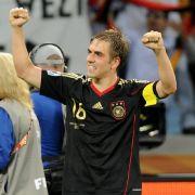 Kapitän bei der WM 2010: Philipp Lahm.