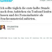 @muserine und das Gestöhne.