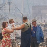 Besonders tragisch sind die Folgen der Wald- und Torfbrände in Mohovoe. In dem Dorf starben gleich sieben Menschen in den Flammen.