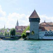 K wie Konstanz, stellvertretend für den Bodensee: Der Bodensee heißt im Französischen «Lac de Constance» (Konstanzer See).