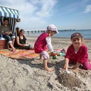 T wie Timmendorfer Strand: Der Ort ist so etwas Ähnliches wie Saint Tropez, nur eben an der Ostsee.