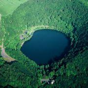 V wie Vulkaneifel: Vulkane scheinen weit weg zu sein.