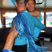 Macht offensichtlich Spaß: Der Deutsche Verband für Equality-Tanzsport richtet den Tanzwettbewerb bei den Gay Games aus.