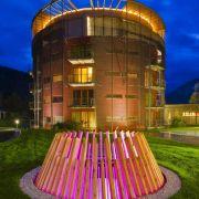 Ganz auf Verliebte spezialisiert hat sich auch das Genießer-  Kuschelhotel Gams im Bregenzerwald.