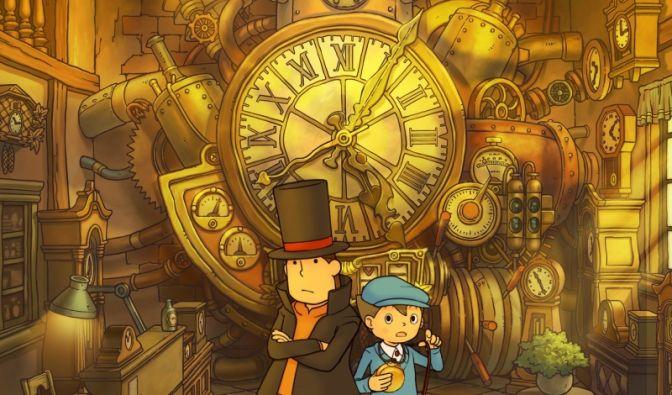 Professor Layton und die verlorene Zeit