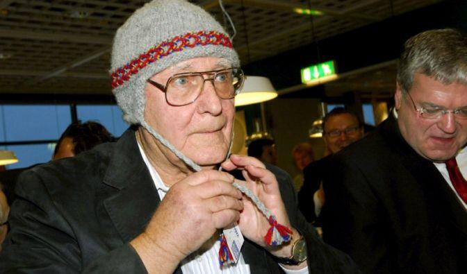 Alles gelogen? Möbelkönig Ingvar Kamprad ist zwar reichster Bewohner der Schweiz, hält aber das Bild (Foto)