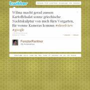 Tweet von @FensterRentner.