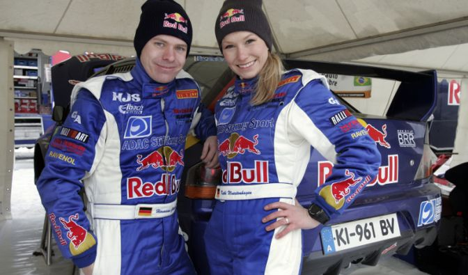 Seit drei Jahren sind Hermann Gaßner und Kathi Wüstenhagen ein sportliches Team.