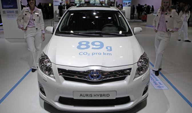 Platz 1: Toyota Auris Hybrid