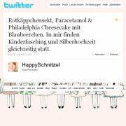Tweet von @HappySchnitzel.