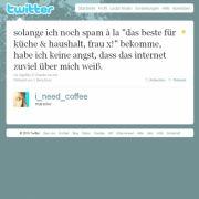 Tweet von @i_need_coffee.