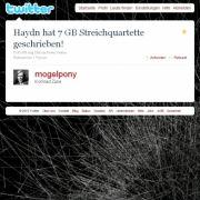 Tweet von @mogelpony.