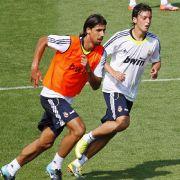 Mesut Özil bei Real Madrid.