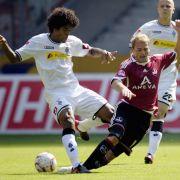 Borussia Mönchengladbach gegen den 1. FCNürnberg.
