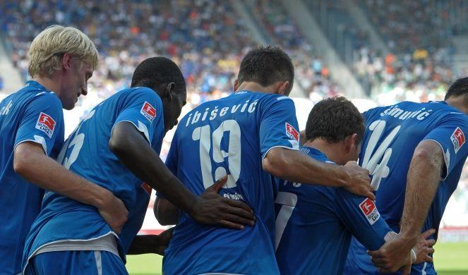 Tänzchen für die Sieger: TSG Hoffenheim.