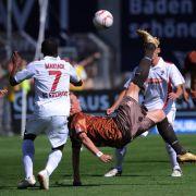 SC Freiburg gegen FC St. Pauli.