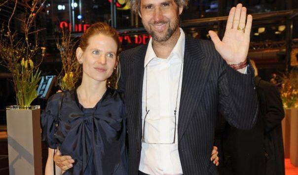 Christoph Schlingensief seine Frau Aino Laberenz im Februar bei der Eröffnung der Berlinale.