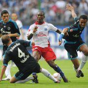 Hamburger Sv gegen FC Schalke 04.