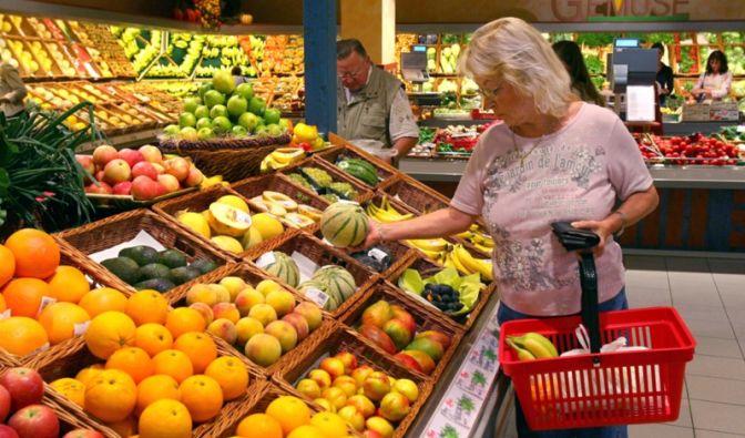 Gemüseabteilung (Foto)
