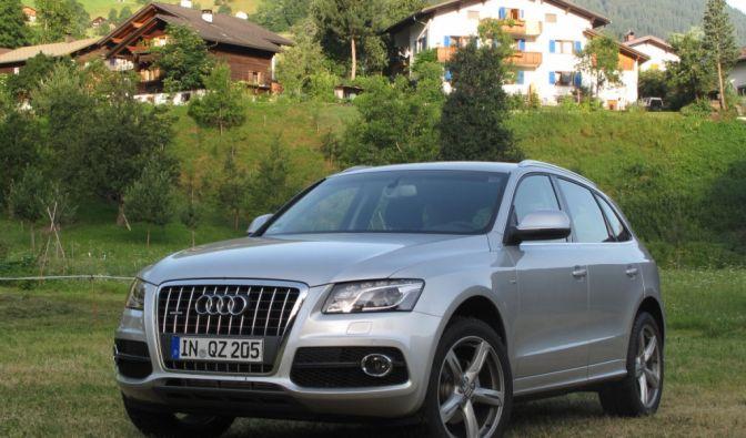 Sportlimousine und SUV in einem - das ist der Audi Q5 2.0 TFSI S-Tronic quattro. Er ist 4,63 Meter lang, 1,88 Meter breit, aber nur 1,65 Meter hoch.