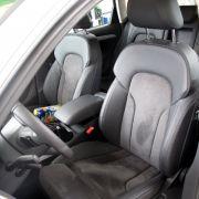 Im Innenraum gibt es die bekannt elegante und hochwertige Verarbeitung, die man vom Plattformgeber A4 kennt.