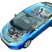 Den konventionellen Verbrennungsmotor unterstützt das Honda-Hybridsystem Integrated Motor Assist IMA, welches für einen sparsamen Verbrauch und geringe Emissionen sorgen soll.