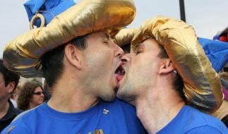 Homo-Küsse (Foto)