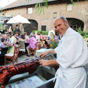 Beim Scheunenfest führte RTL Bauern und Frauen zusammen.