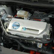 Der Wechselstrom-Synchronmotor verfügt über eine Maximalleistung von 80 kW, das entspricht 109 PS.