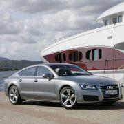 ... der Audi A7 Sportback, ...