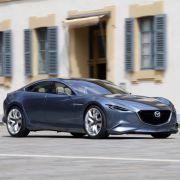 Auch den Mazda Shinari wird man unter der Sonne Kaliforniens begutachten dürfen.