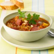 Scharfe Sauerkrautsuppe