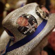 ... hatten sich Angles Anhänger intensiv für eine Abwahl Reids geworben - so zum Beispiel auf diesem Hut.