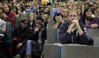 Studenten in der Vorlesung (Foto)