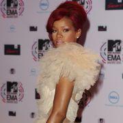 Popstar Rihanna trug das schönste Kleid des Abends