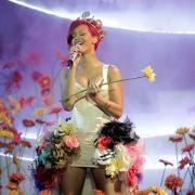 Rihanna bei ihrem Auftritt