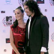 Das frischverheiratete Paar Katy Perry und Russel Brand