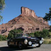 Auf zahlreichen Oldtimer-Rallyes hat er in den letzten Jahren weltweit sein Können gezeigt ...