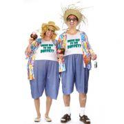 Egal, was Sie jetzt denken: Das ist kein Kostüm. Glauben sie nicht? Dann schauen Sie doch mal die alten Urlaubsfotos vom letzten Sommer auf Mallorca an. Und, fällt Ihnen was auf?